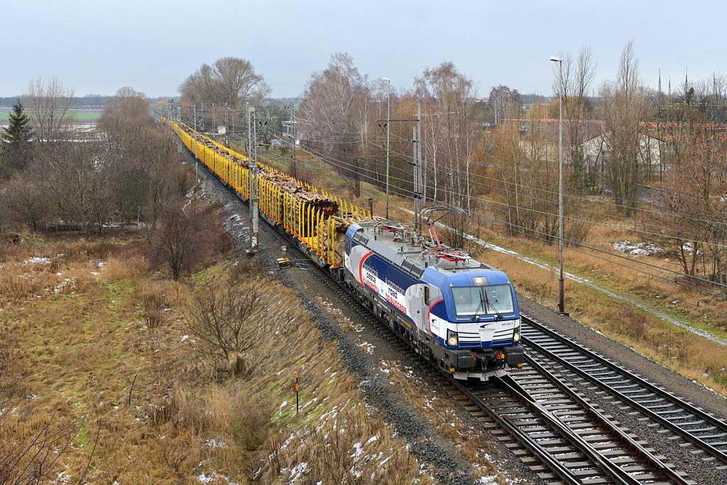Lokomotiva 383.204, Pečky, 12.1.19