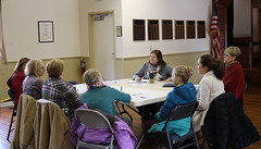 Rep. Haines hosted an open conversation for residents to share their thoughts and concerns about state education policy