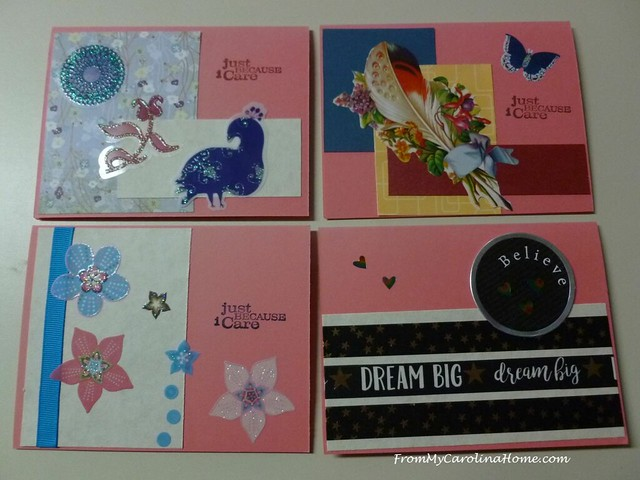 Stamping for Safelight at FromMyCarolinaHome.com