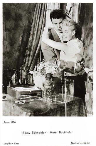 Romy Schneider and Horst Buchholz in Monpti (1957)