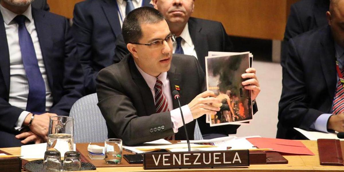 Canciller Jorge Arreaza declaraciones en la ONU