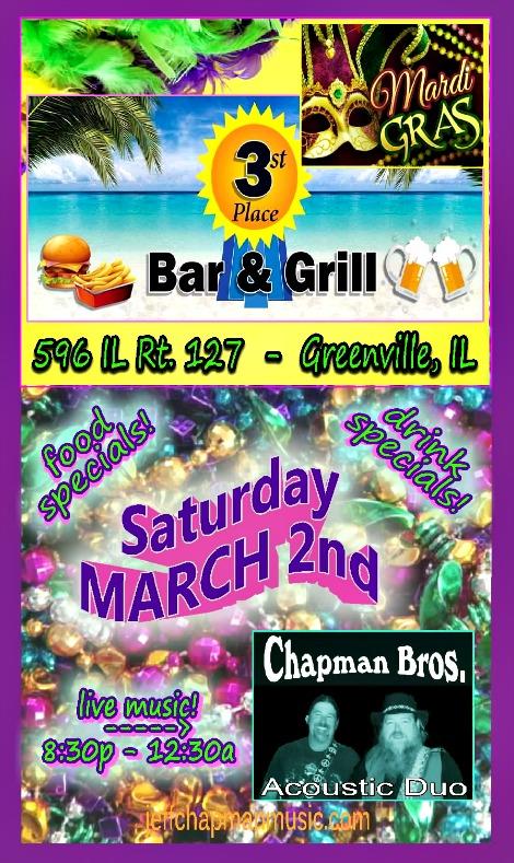 Chapman Bros 3-2-19