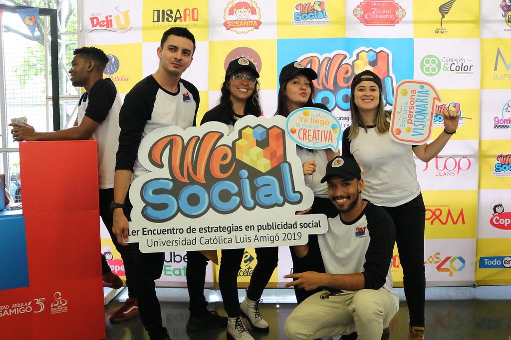 Lanzamiento We Social Event