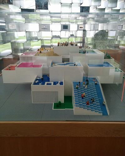 Lego House (2) #toronto #unzippedtoronto #serpentinepavilion2016 #bjarkeingels #architecture #lego #legohouse #billund #parks #latergram
