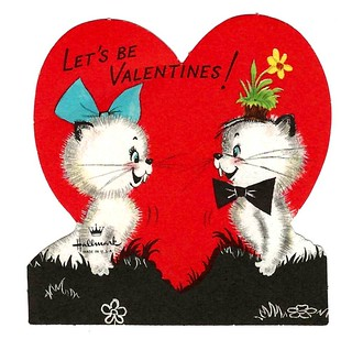 Vintage Child's Valentine Card - Let's Be Valentines! A Hallmark Card, Made In USA, Circa 1960s | by France1978