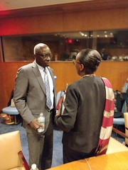 Various photos from the Rwanda Mission to the United Nations