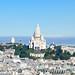 2. Sacre Coeur del barrio de Montmartre de París