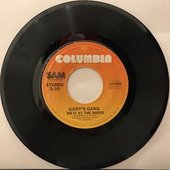 GARY'S GANG:KEEP ON DANCIN'(RECORD SIDE-B)