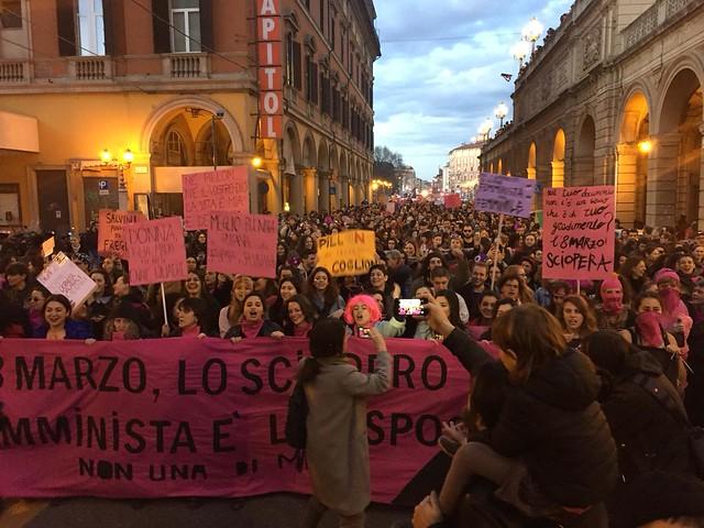 8 marzo - Bologna - Corteo