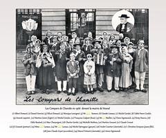 1960 Champlitte (31) compars de Chanitte identifiés