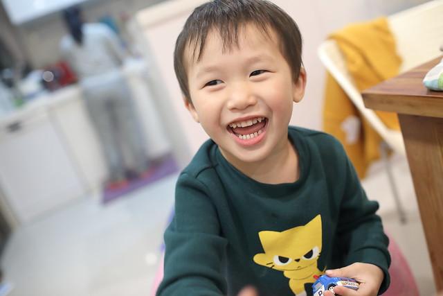 【小安比日記】可以說出句子的三歲七個月