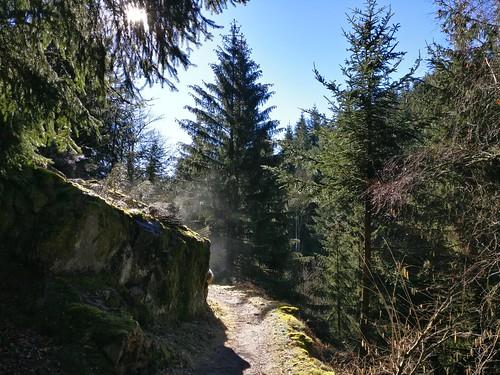 Au rocher qui fume