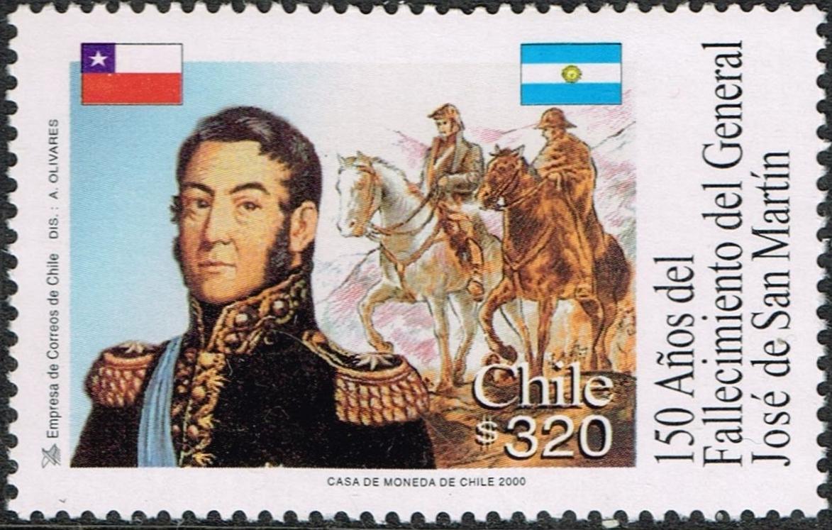Chile - Scott #1338 (2001)