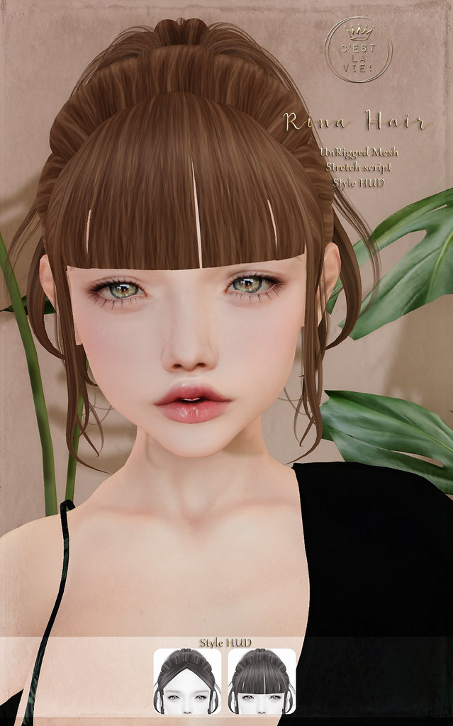 ::C'est la vie !:: Rina Hair for 💗Fifty Linden Fridays💗