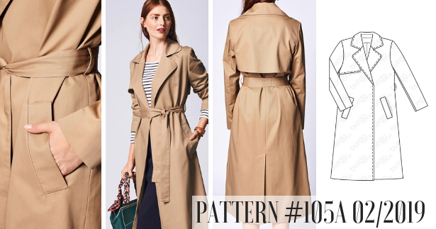 Trench Coat Pattern