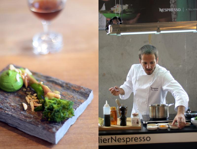 Atelier Nespresso, Chef Kiko Martins