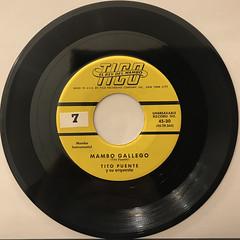 TITO PUENTE Y SU ORQUESTA:MAMBO GALLEGO(RECORD SIDE-A)