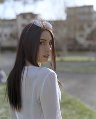 Shooting con Francesca