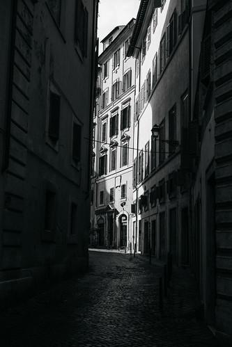 "Image titled ""Shadow, Rome. (B&W)"""
