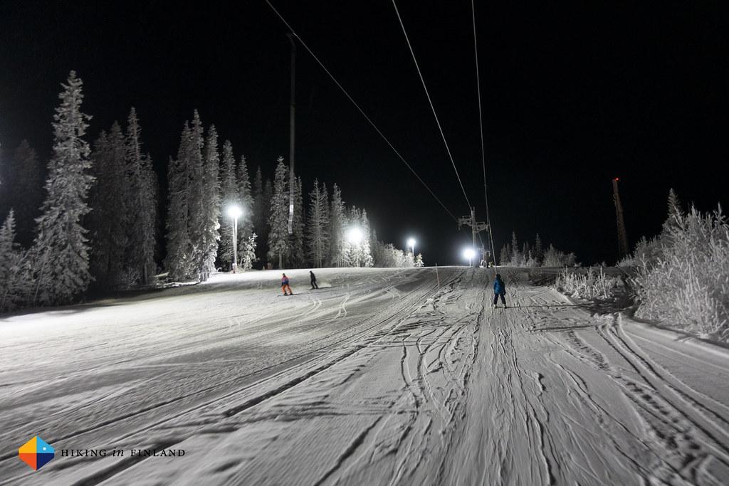 Illuminated runs
