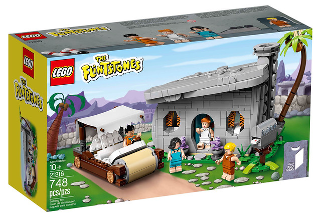 Yabba Dabba Doo~~ LEGO 21316 Ideas 系列《摩登原始人》摩登原始人 The Flintstones