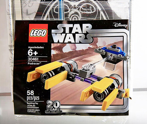 LEGO Star Wars Podracer - 20th Anniversary Edition (30461)