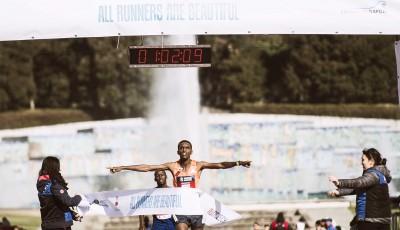 Náročné povětrnostní podmínky na Napoli City Half Marathon