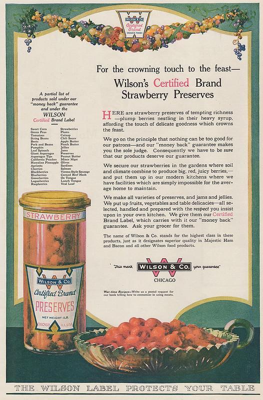 Wilson & Co. 1918