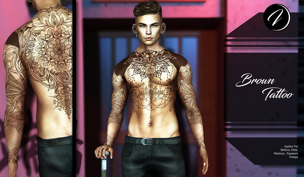 ..:: INKer ::.. Brown Tattoo - TeleportHub.com Live!