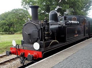 LSWR O2 Class W24 Calbourne