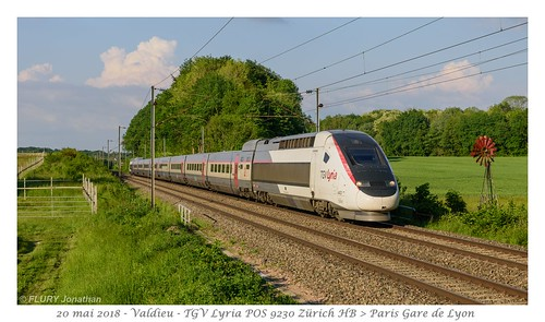 TGV POS Lyria 4403 - Valdieu