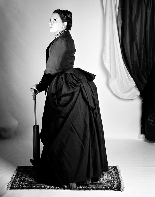 Robe à tournure 1887