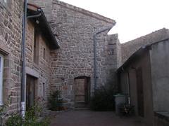 20080901 28933 1002 Jakobus La Chapelle Pilgerherberge Steinmauer - Photo of Saint-Jean-Soleymieux