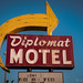 Diplomat Motel Closeup