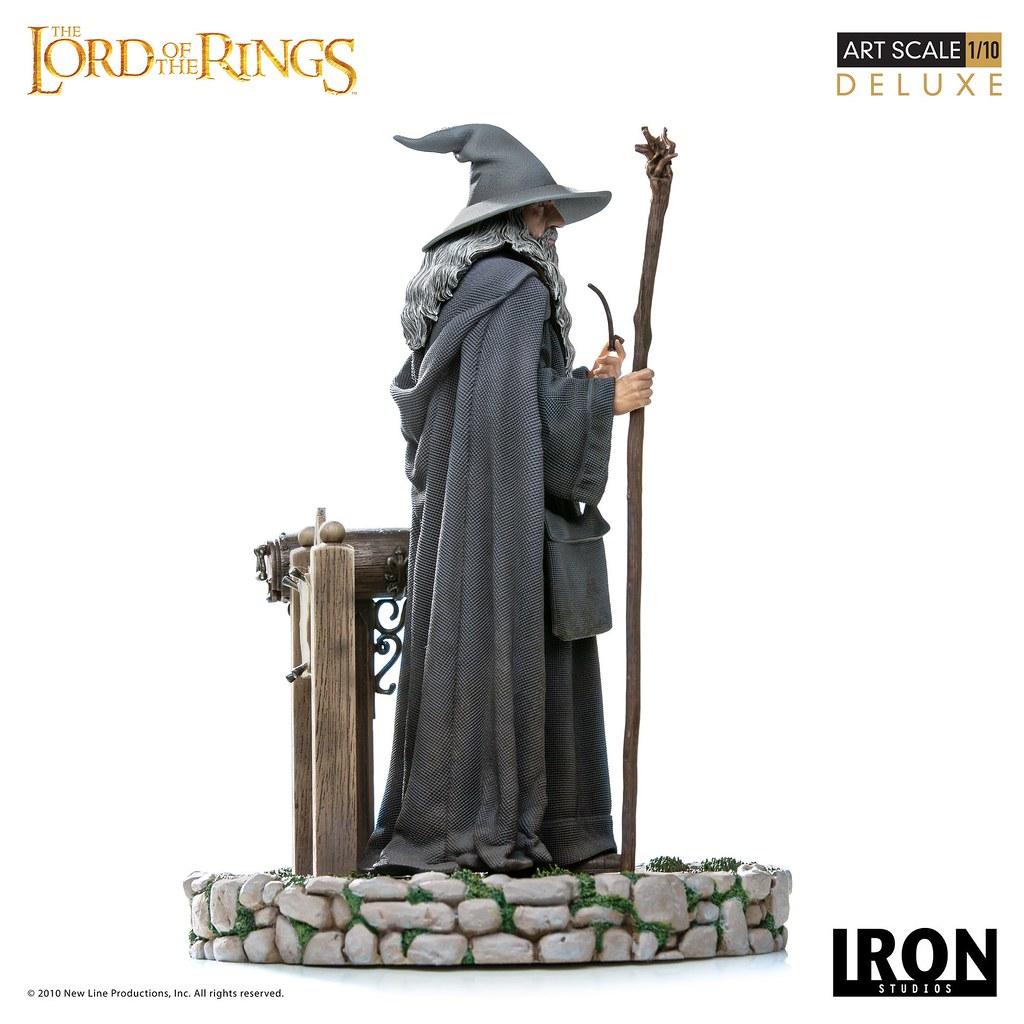 意外來訪的灰袍智者!! Iron Studios《魔戒》甘道夫 豪華版 Gandalf Deluxe 1/10 比例全身雕像作品