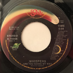 WHISPERS:ROCK STEADY(LABEL SIDE-B)