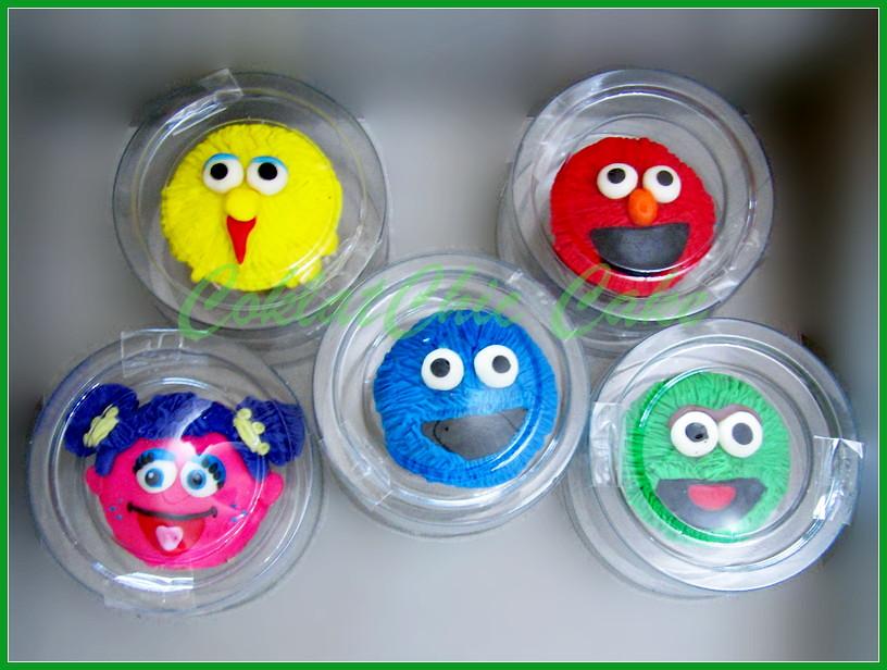 cupcake Sesame Street