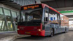 CXX 3595 resting at Zaandam Busstation