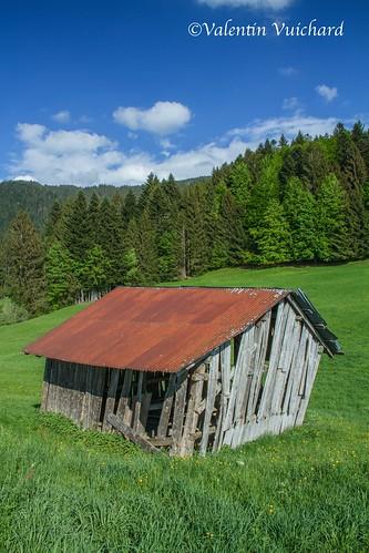SF-IMG_9661 - La Pointe, old hayloft, Gruyère region - Switzerland
