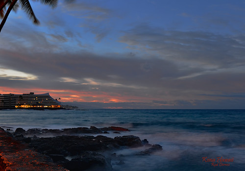 water waves sea rocks tropical bay usa outdoors sunrise island nikon ocean orange landscape hawaii shoreline seaside kilauea lights horizon beach morning