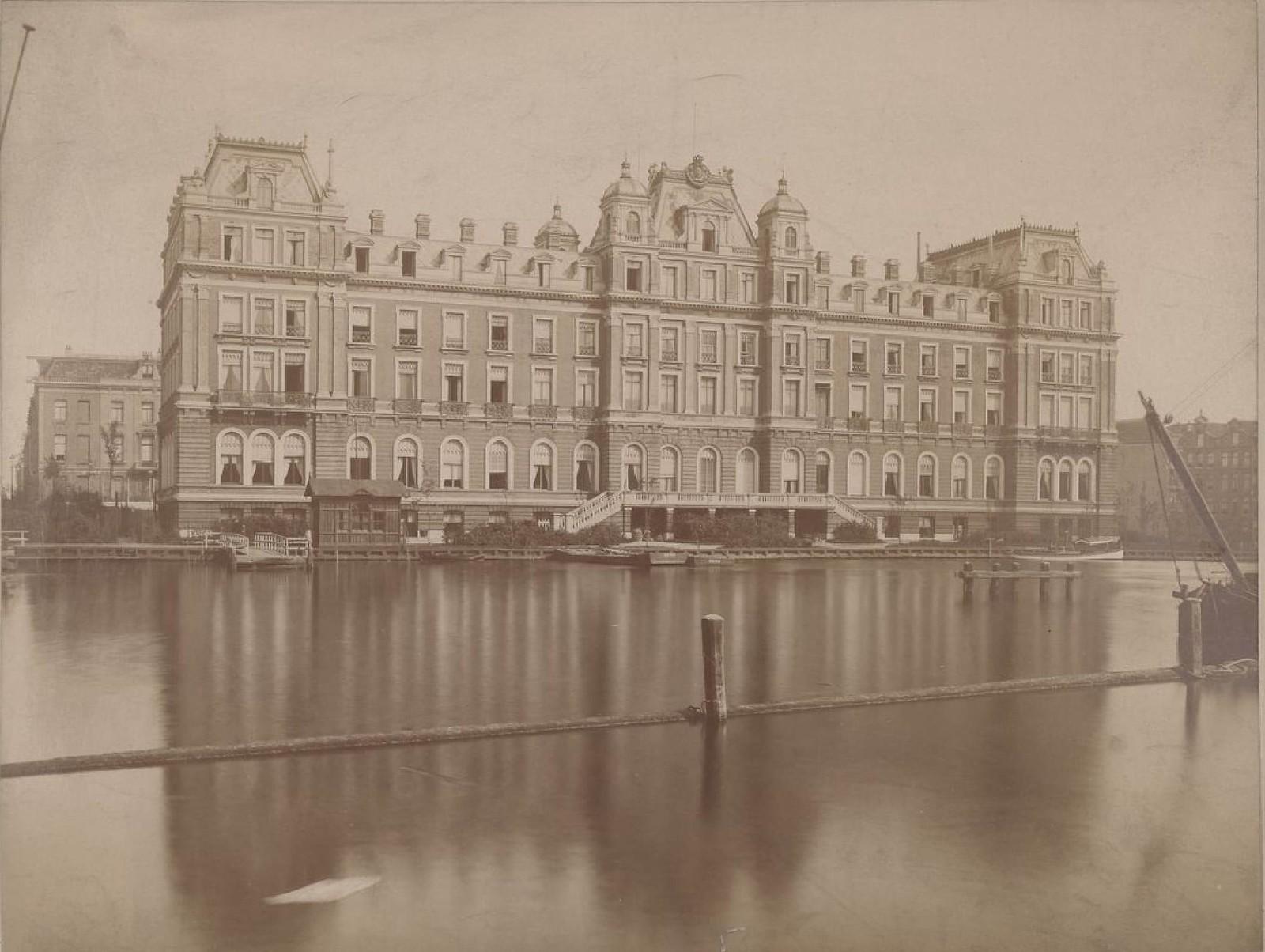 Амстердам. Отель Амстел, 15 мая 1888