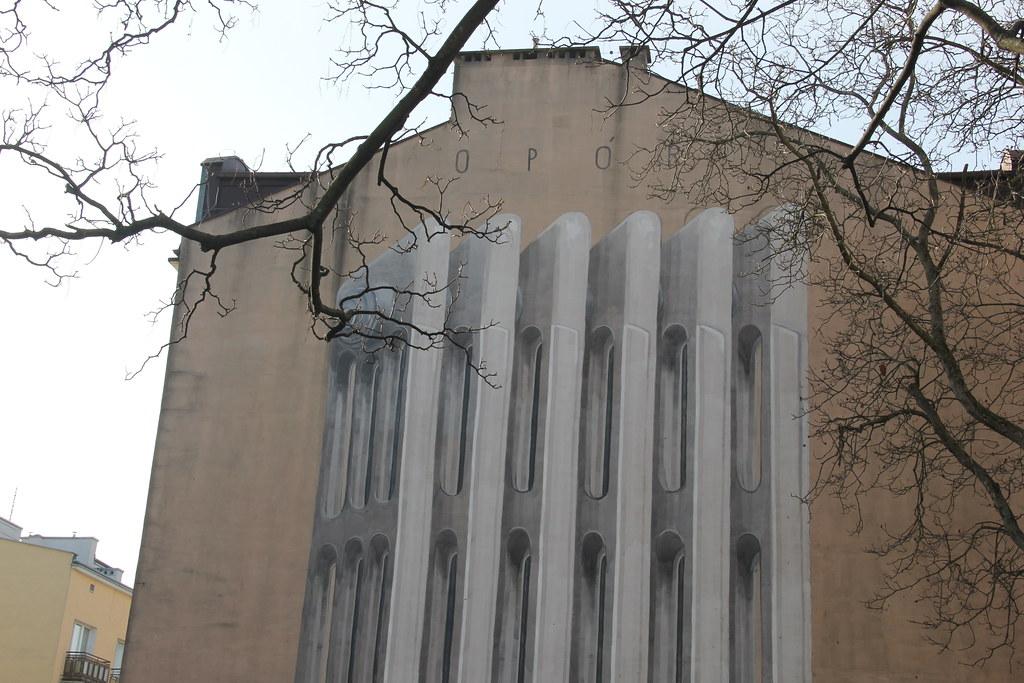 Opór (Resistance) by Escif (Warsaw Street Art Tour)