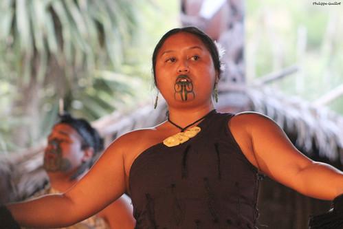 Chanteuse maorie
