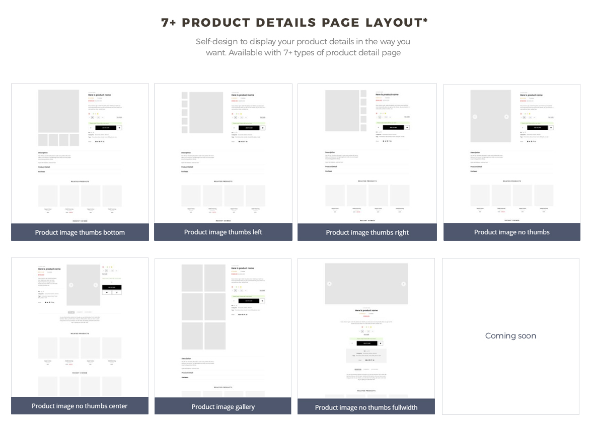 7+ product details page layout - Leo Neons - Stationery Prestashop theme