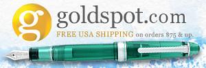 goldspot pens banner