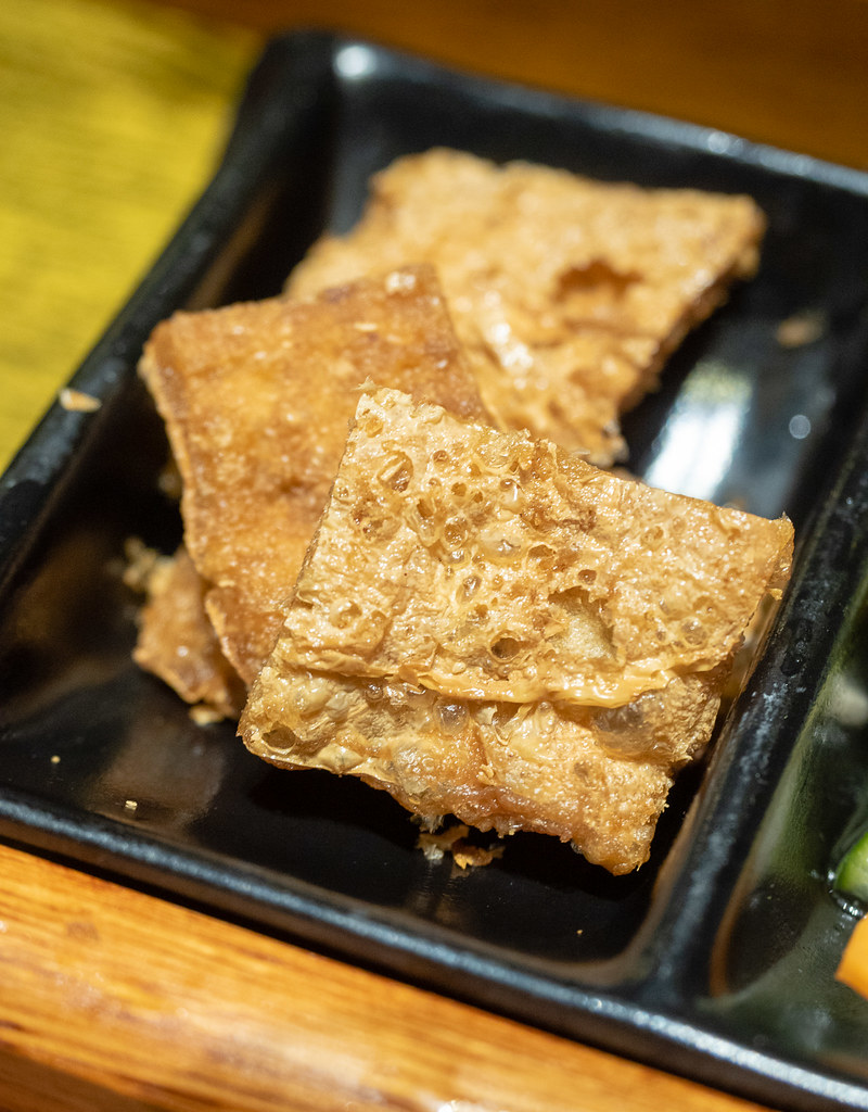 Yummy side dish, the fried fuchuk at House of Pok (小猪猪) Jaya One