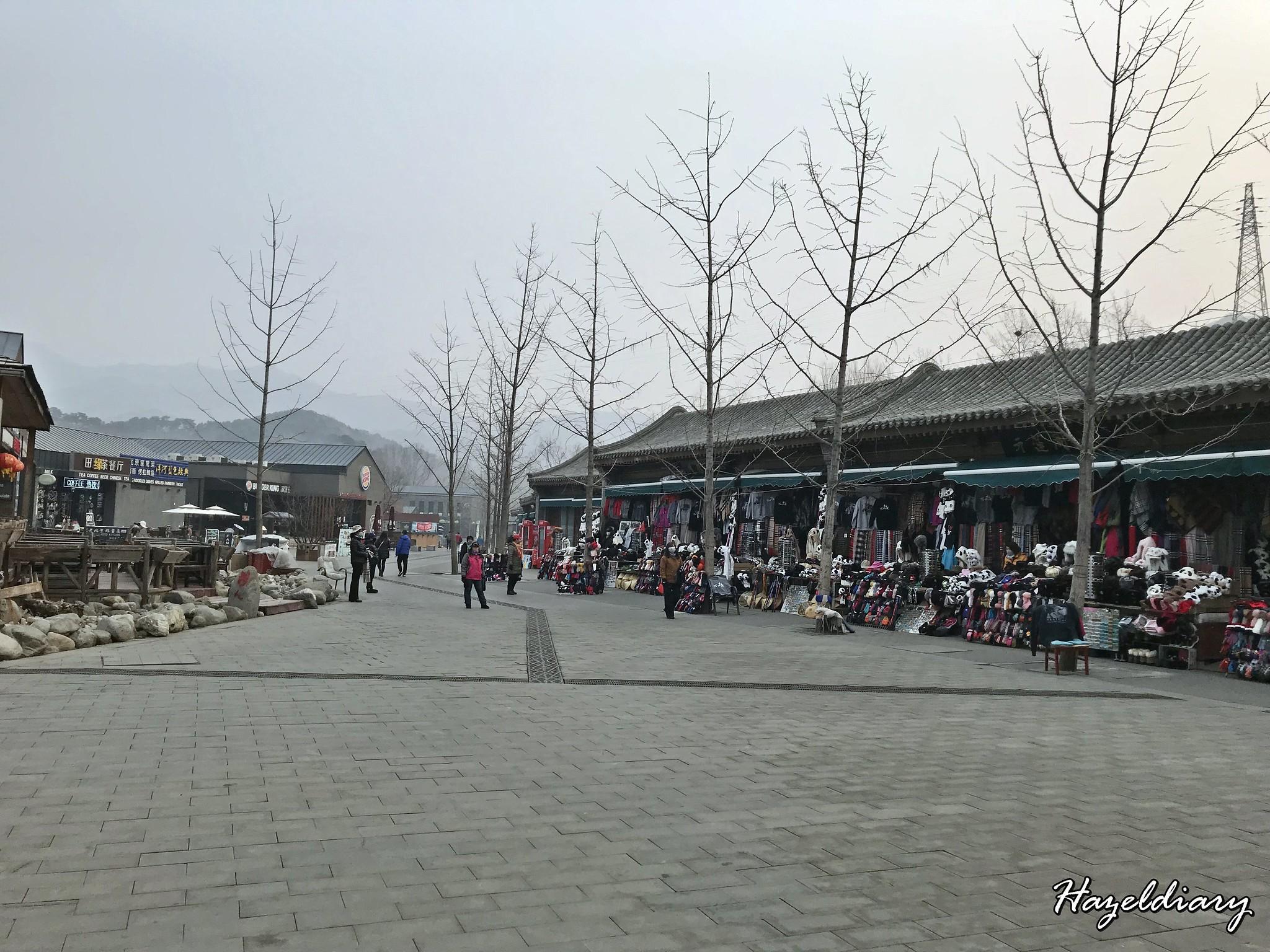 The Great Wall of China Mutianyu -foot mountain