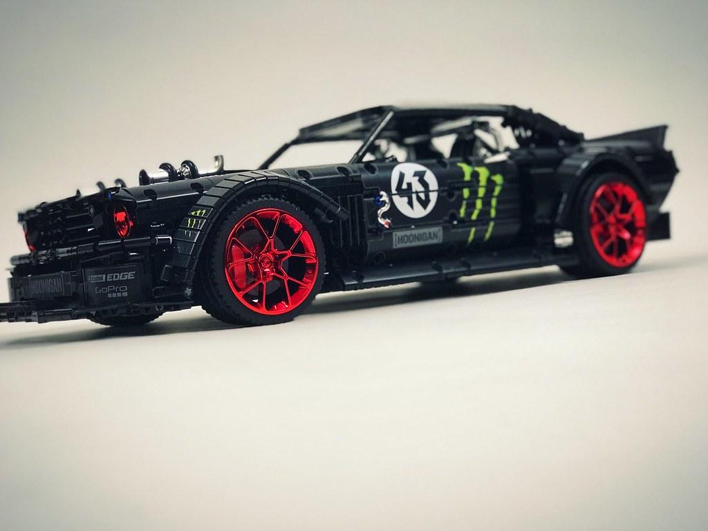LEGO MOC-22970 Ford Mustang Hoonicorn V2 (Technic > Model ...