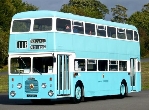 XDH 56G 'Walsall Corporation Transport' No. 56. Daimler CRC6-36 / Northern Counties on Dennis Basford's railsroadsrunways.blogspot.co.uk'