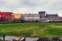 A VISIT TO DUBLIN CASTLE [THE GROUNDS AND GARDENS]-147377